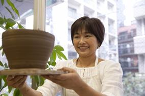 東京の陶芸教室千秋工房 教室の風景6