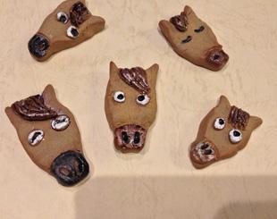 東京の陶芸教室千秋工房 箸置き